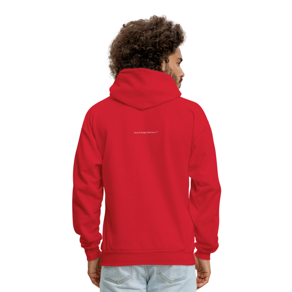 Nothing's Too Hard for God Men's Hoodie - red