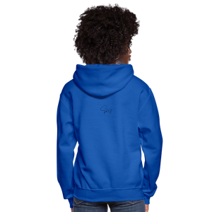 Locked and Loaded Women's Hoodie - royal blue