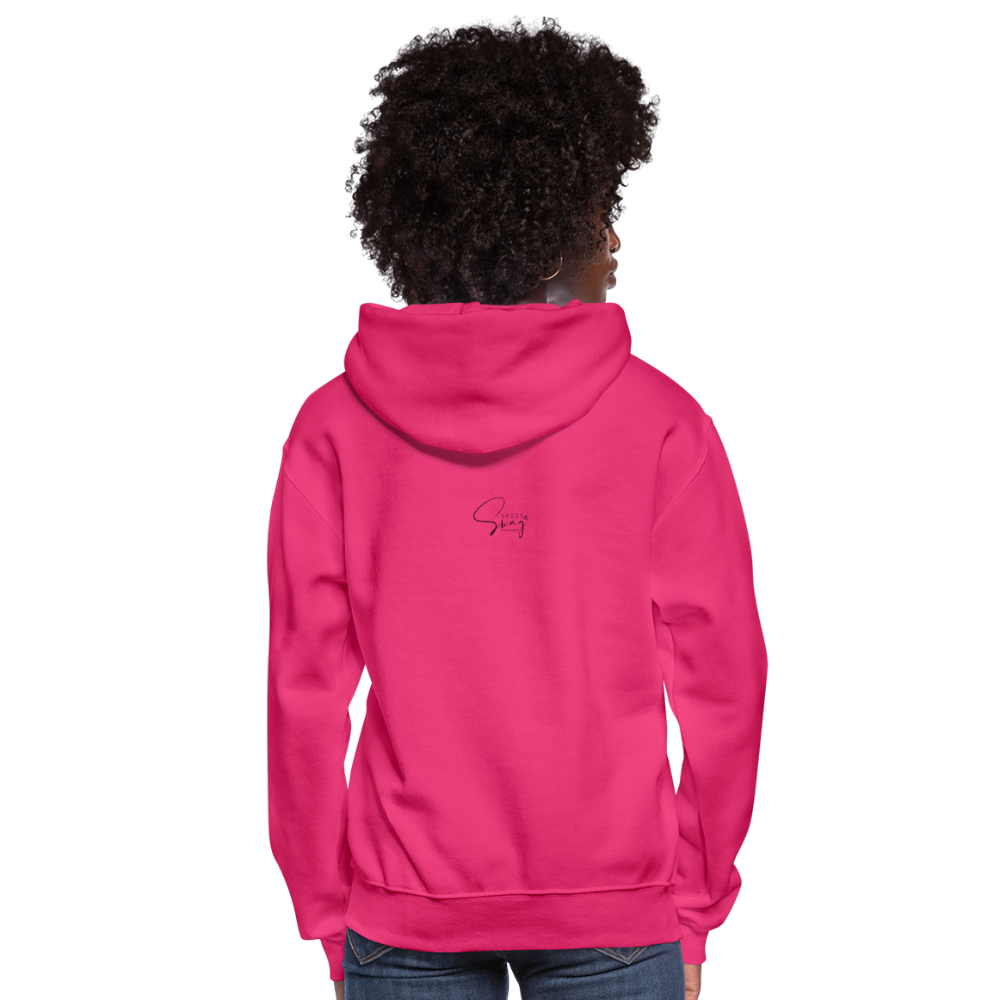 Locked and Loaded Women's Hoodie - fuchsia