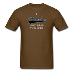 Champion Lead Unisex Classic T-Shirt - brown