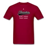 Champion Lead Unisex Classic T-Shirt - dark red