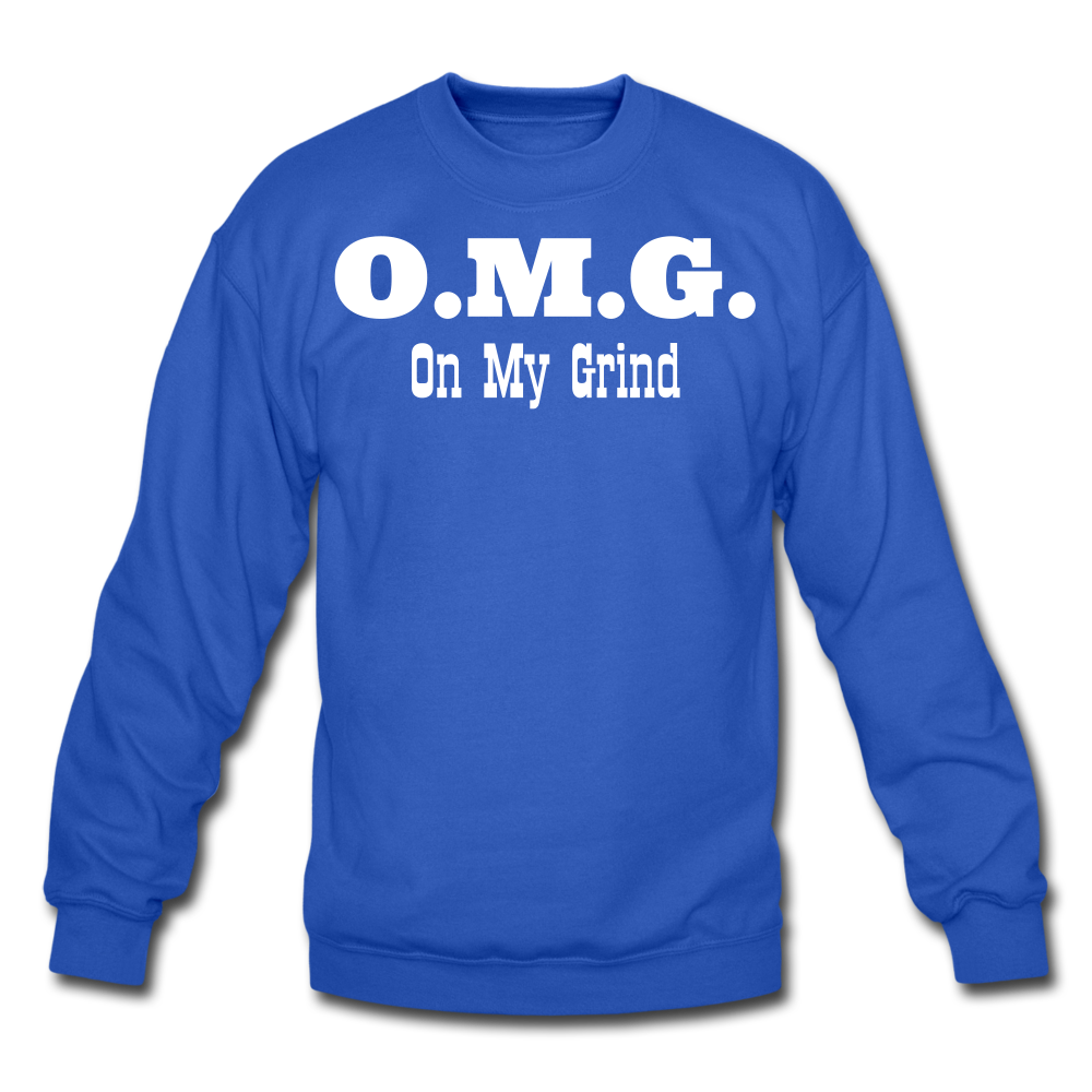 O.M.G. Unisex Crewneck Sweatshirt - royal blue