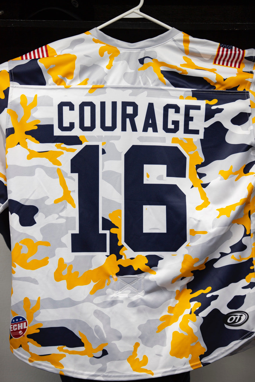 Military Jersey- #16 Ryan Salkeld - Courage