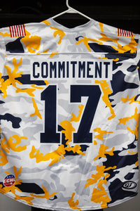 Military Jersey- #17 - Commitment