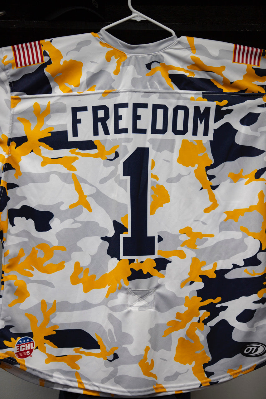 Military Jersey- #1 Jake Theut - Freedom