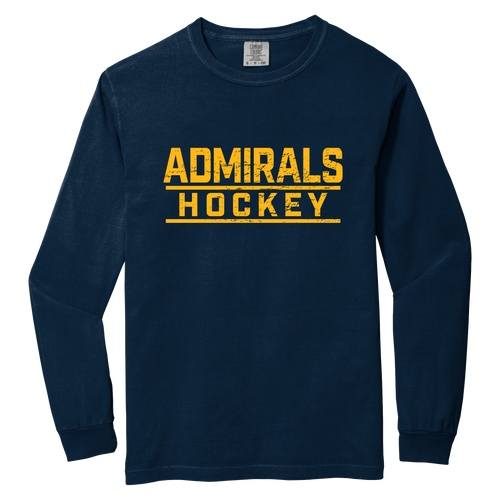 APPAREL-Admirals Hockey Long Sleeve