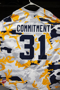 Military Jersey- #31 Roman Durny - Commitment