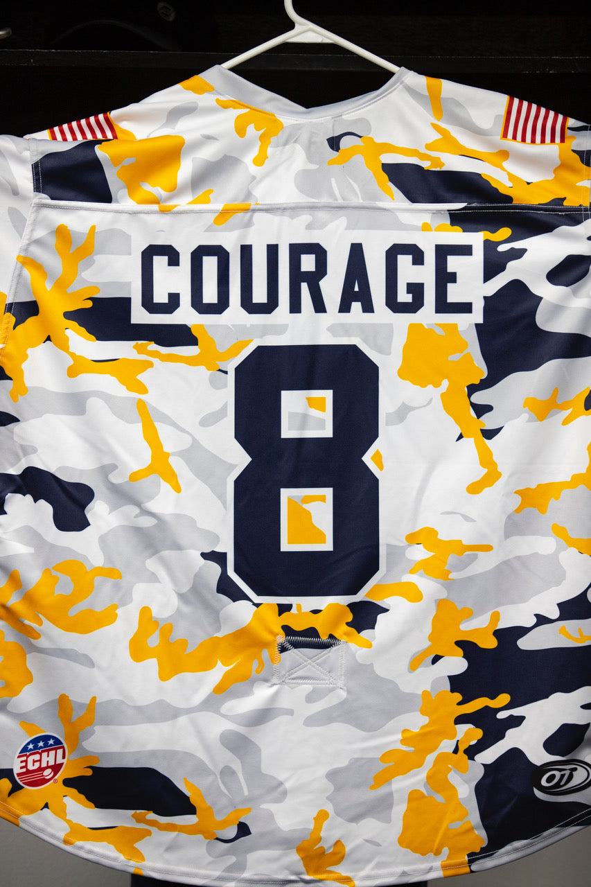 Military Jersey- #8 - Courage