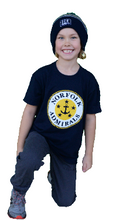 Load image into Gallery viewer, YOUTH APPAREL-Youth Navy Logo T