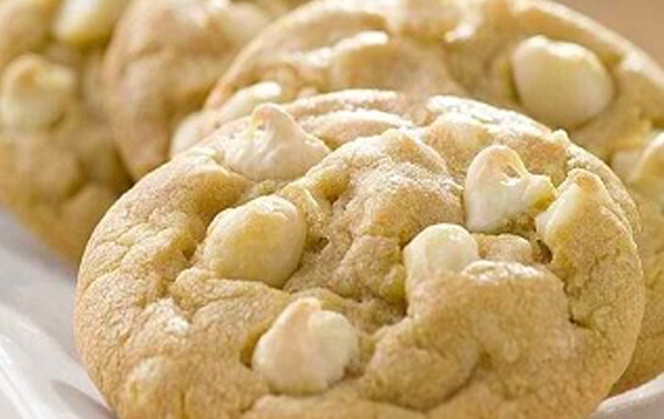 Almond White Chocolate Cookie
