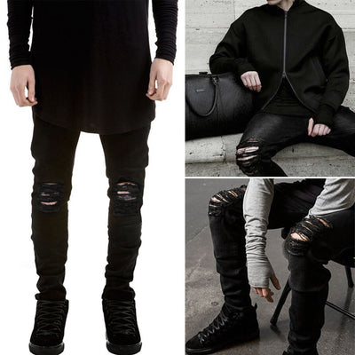 NEUTRALBLU SLIM FLANGING JEANS  - NeutralBlu Genderless Gender Neutral Fashion Clothing Line Androgynous Clothing Unisex
