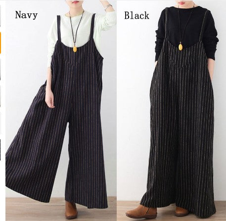 NEUTRALBLU DAZE STRIPED OVERALLS  - NeutralBlu Genderless Gender Neutral Fashion Clothing Line