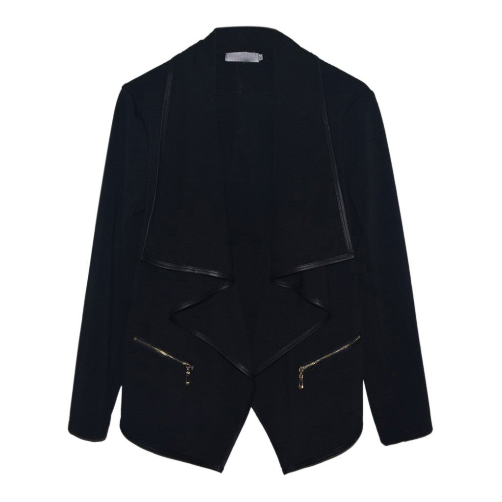 NEUTRALBLU IRREGULAR FASHION BLAZER JACKET  - NeutralBlu Genderless Gender Neutral Fashion Clothing Line