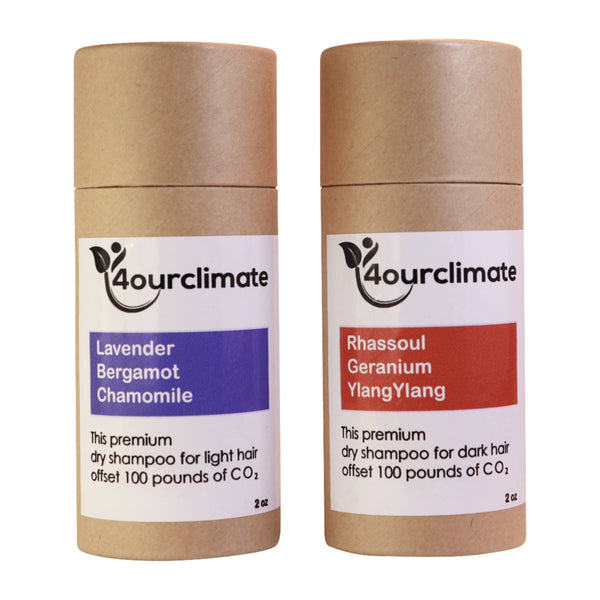 Dark Hair Rhassoul Dry Shampoo