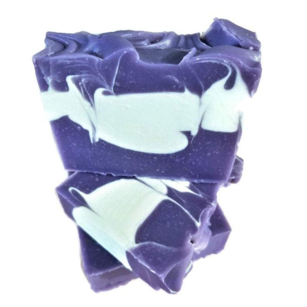 Purple Peach Handcrafted Bar Soap
