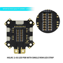 Load image into Gallery viewer, HGLRC 2 - 6S LED PDB with 4 x Single Row LED Strip