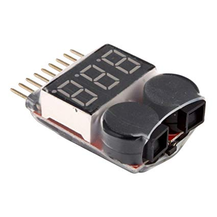 2 in 1 Lipo Battery Low Voltage Tester / Buzzer