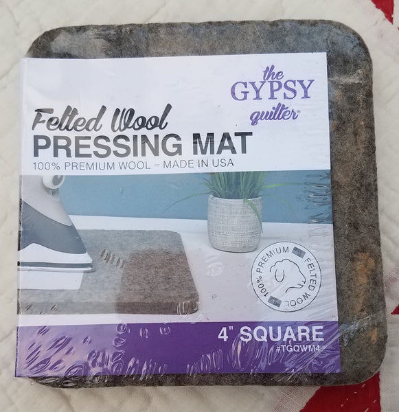 Gypsy Quilter Wool Pressing Mat – 4 in