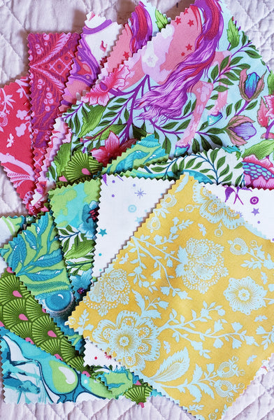 "Pinkerville 5"" Charm Squares"