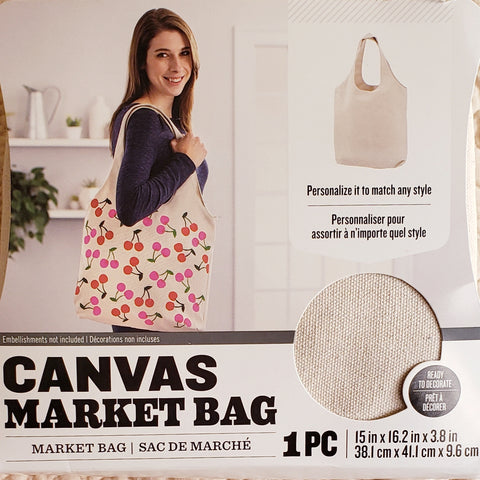 Canvas Market Bag