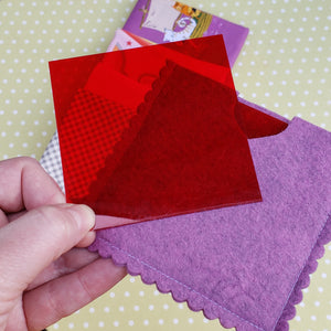 Quilter's Ruby Lens