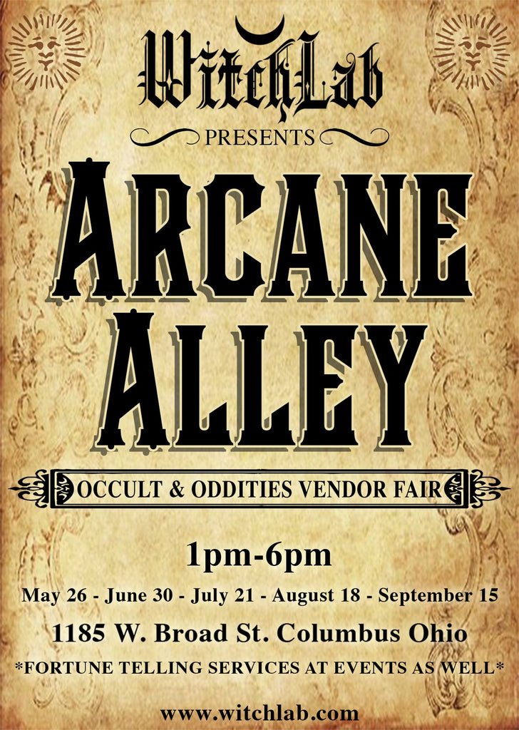 Arcane Alley THIS Sunday, June 30th from 1-6!