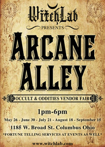 Arcane Alley Monthly Occult and Oddities Vendor Fair