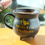 Witch's Potion Cauldron Mug