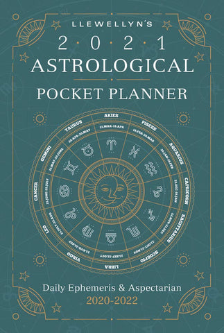 Llewellyn's 2021 Astrological Pocket Planner: Daily Ephemeris & Aspectarian 2020-2022