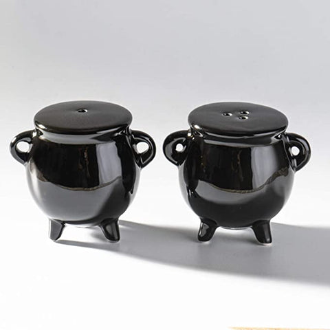 Cauldron Salt and Pepper Shakers