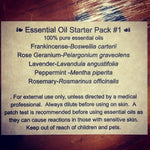 Essential Oil Starter Pack #1