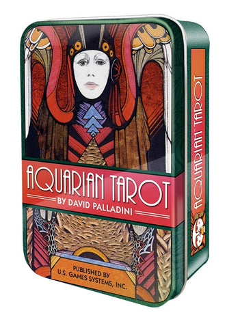 Copy of Aquarian Tarot in a Tin
