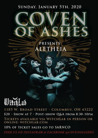 Coven of Ashes presents Aletheia