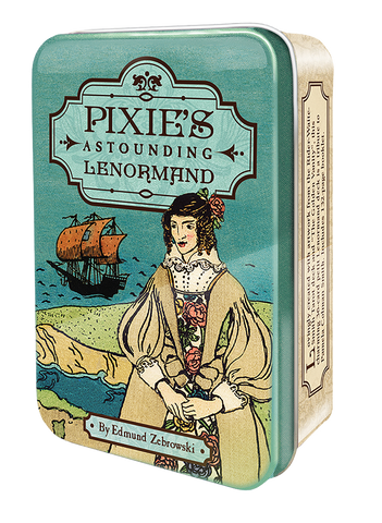 Pixie's Astounding Lenormand in a tin