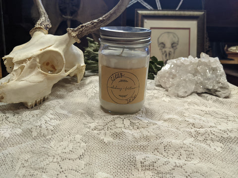 Alchemy and Fortune 12oz Fortune-Vial Soy Wax Candle - Various Scents