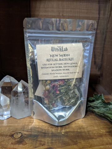 New Moon Herbal Bath Kit
