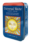 Universal Waite® Tarot Deck in a Tin