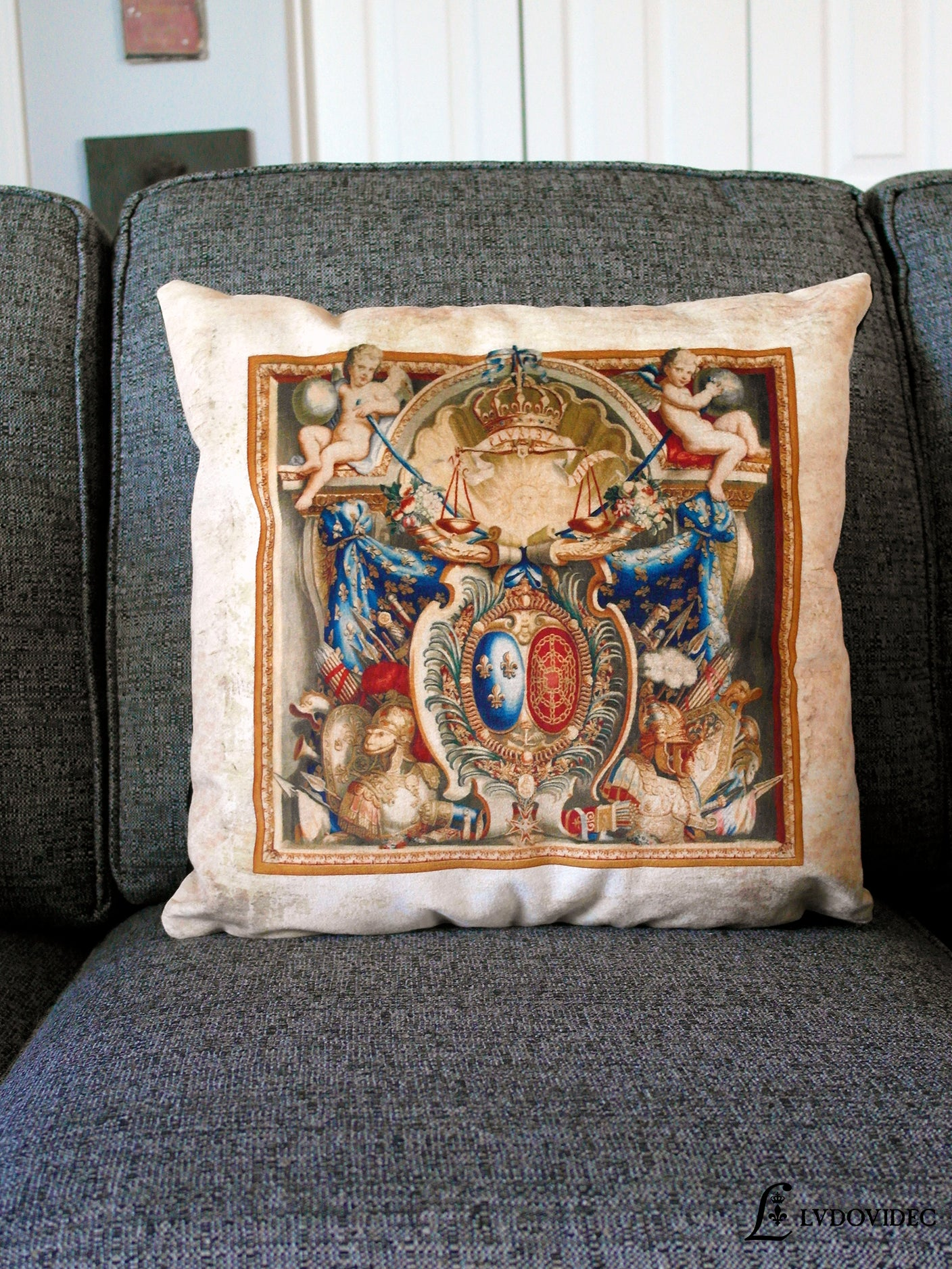 Coussin / Armoiries / France / Navarre / Ludovidec