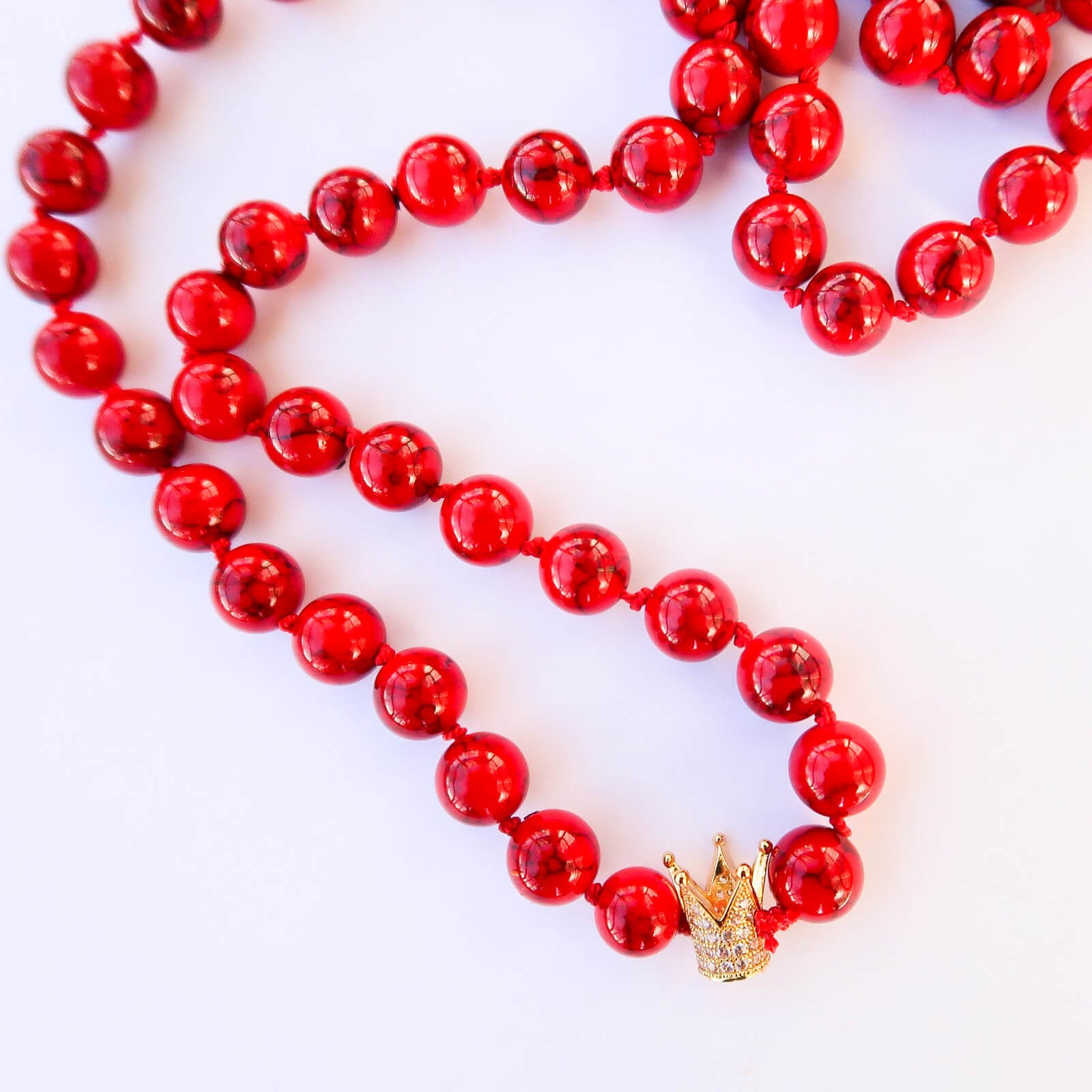 Kings Crown Custom Mala Necklace