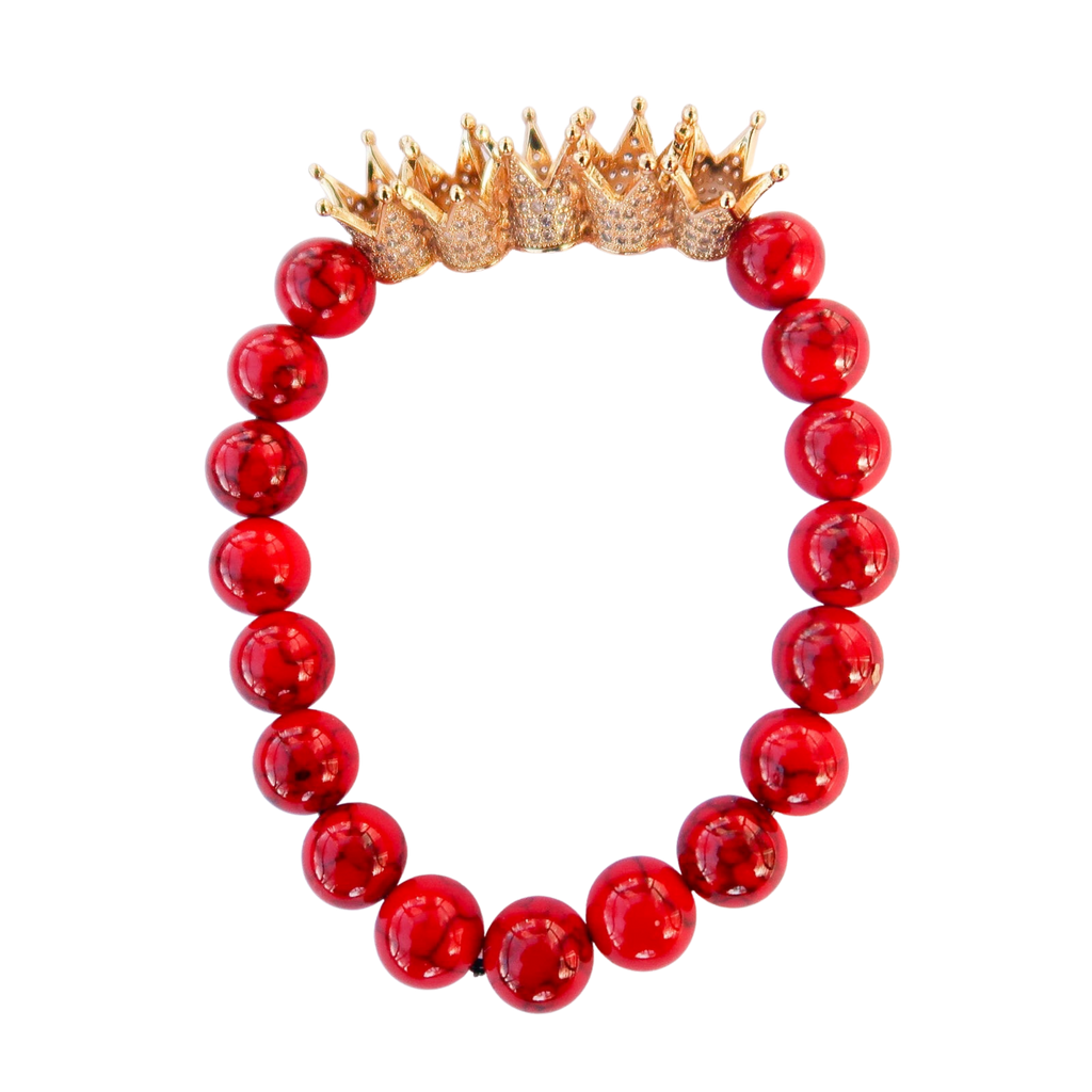 Kings Crown Gemstone Bracelet