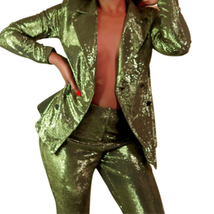 Green Apple Blazer suit set