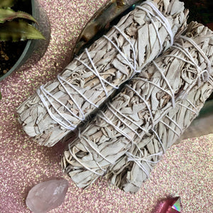 White Sage Bundle 5""