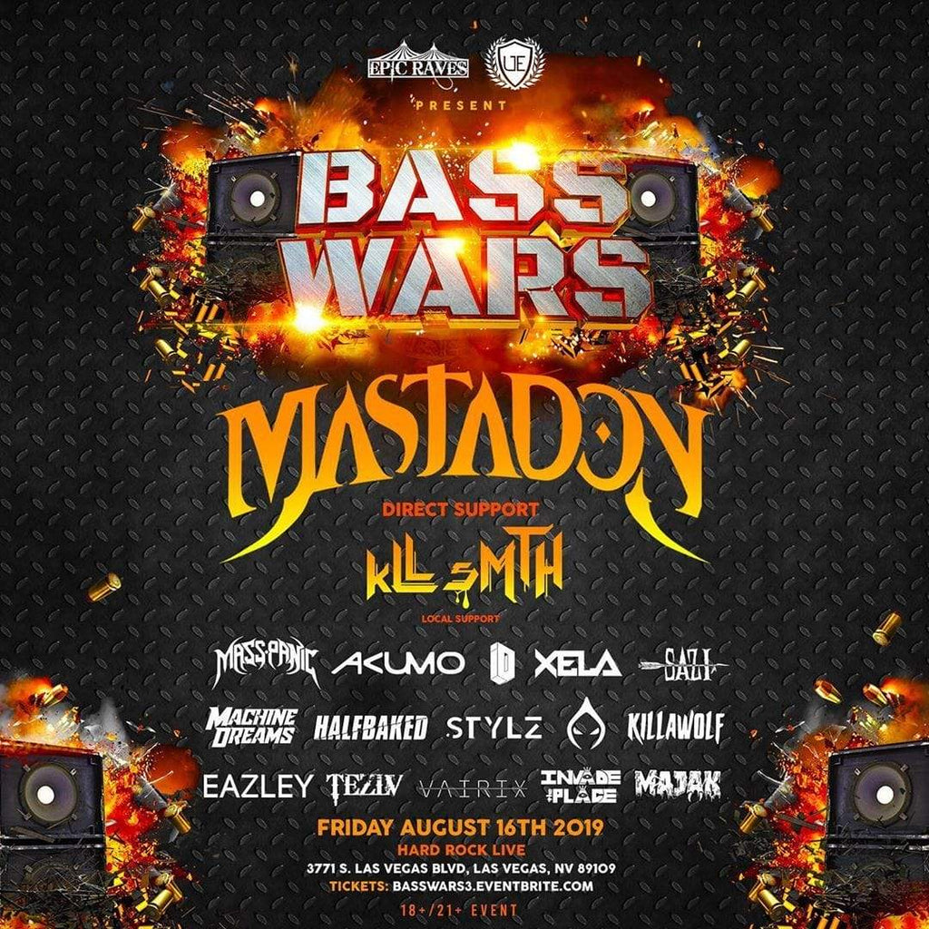 EPICRaveShop BASS WARS 3 GA Limited - SALES ENDED