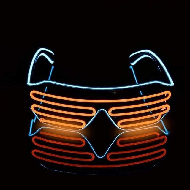 EPICRaveShop Goggles Orange LED Glasses