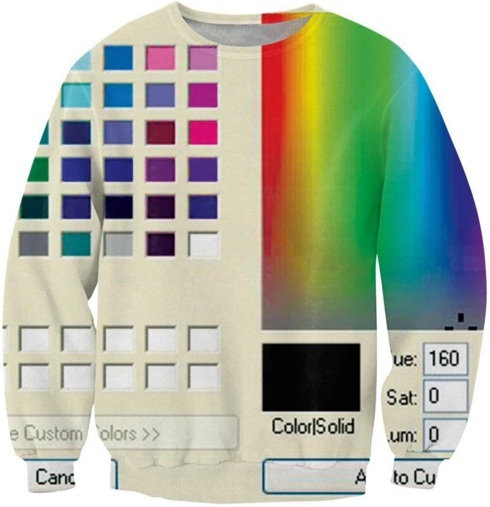TheDeep_Net Sweatshirts Windows 95 Crewneck