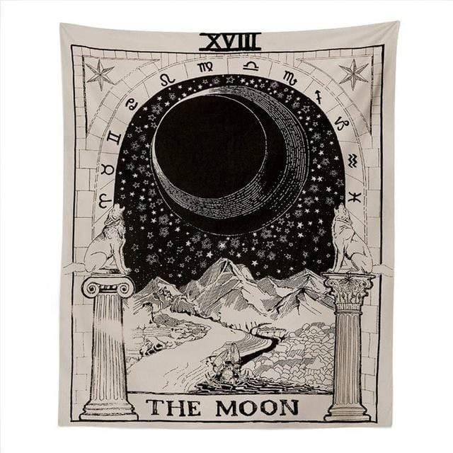 EPICRaveShop Tapestries MOON / 59in x 39in Astrologic Destiny Tapestry