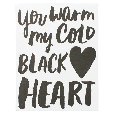 cold black heart