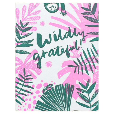 wildly grateful