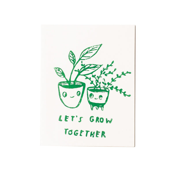 let's grow together