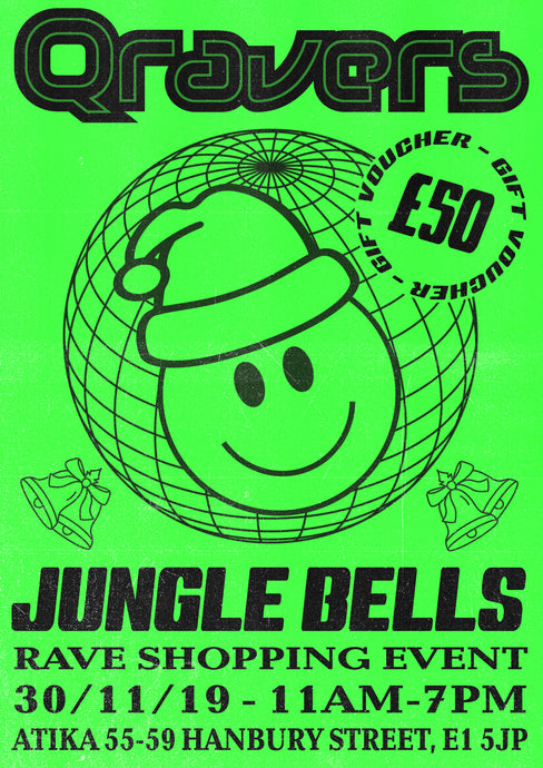 Qravers Jungle Bells Rave Shopping Event